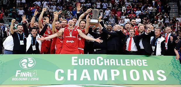 Reggio Emilia løb med Eurochallenge titlen
