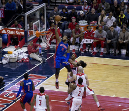 Andre Drummond, Detroit Pistons, Keith Allison, Flickr