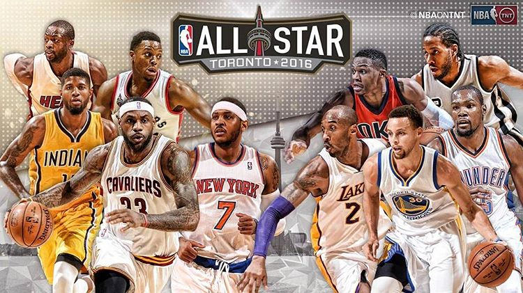 De første 10 spillere er klar til All Star kampen