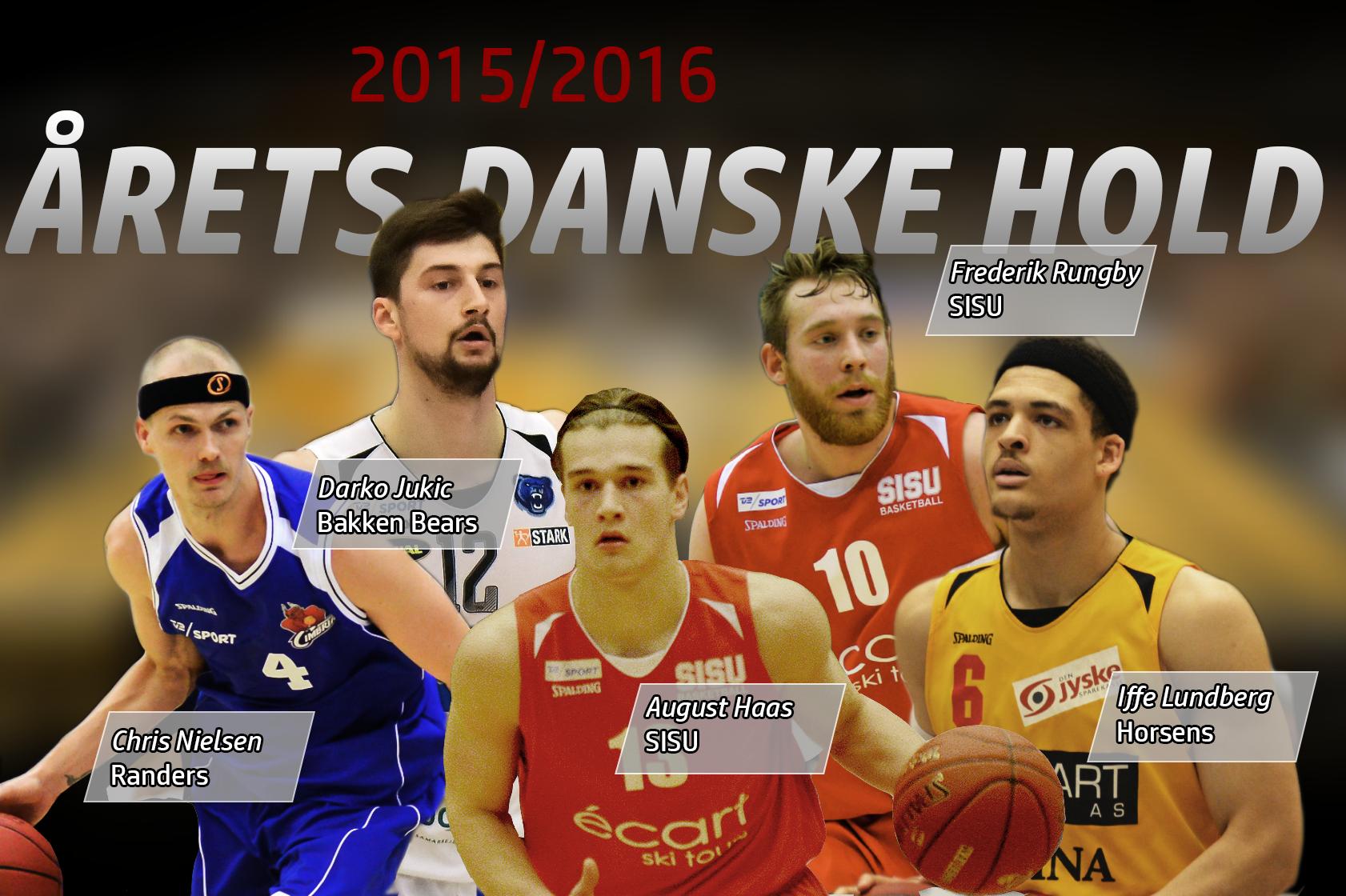 Årets danske hold i Basketligaen