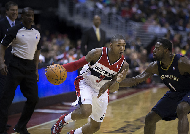 Bryant sikrede Wizards sejren i sidste sekund