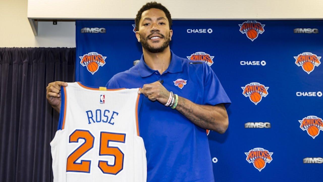 Derrick Rose vender tilbage til New York Knicks