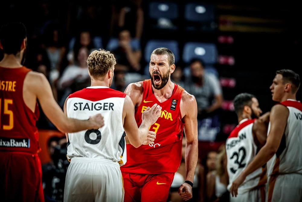 Store præstationer af Gasol-brødrene sender Spanien i semifinalen