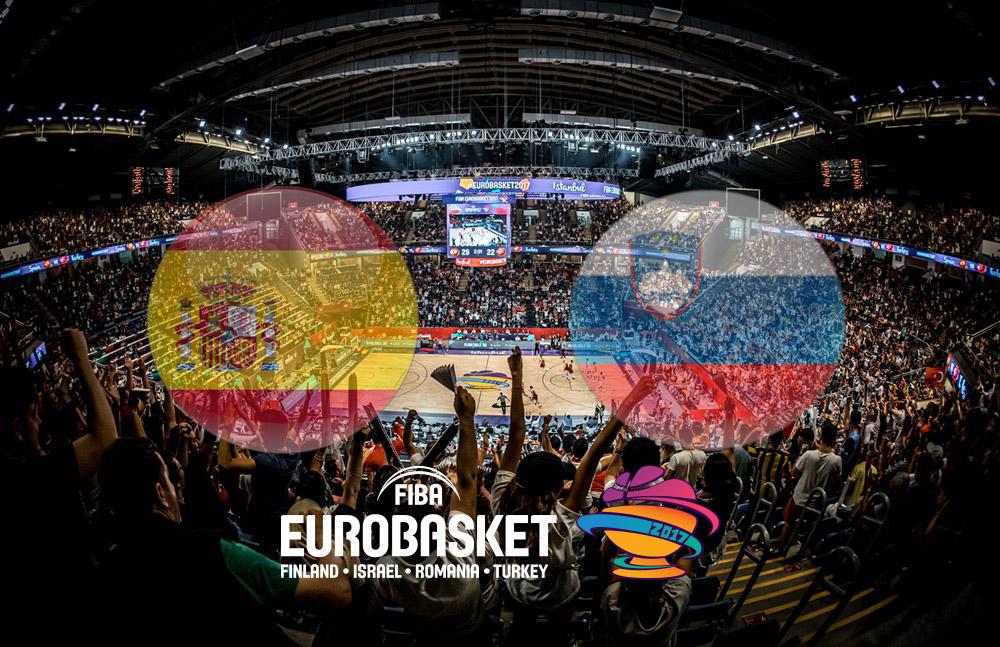 Ubesejrede Spanien og Slovenien mødes i EM-semifinalen