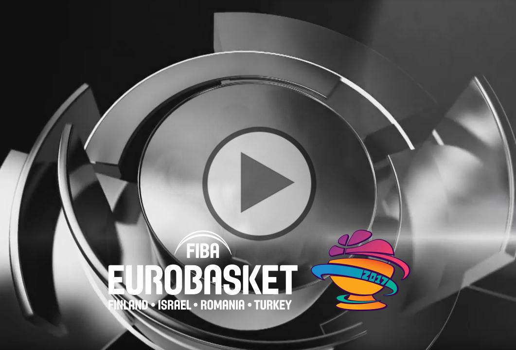 Top 5 highlights – Kvartfinaler – Dag 1 – EuroBasket 2017