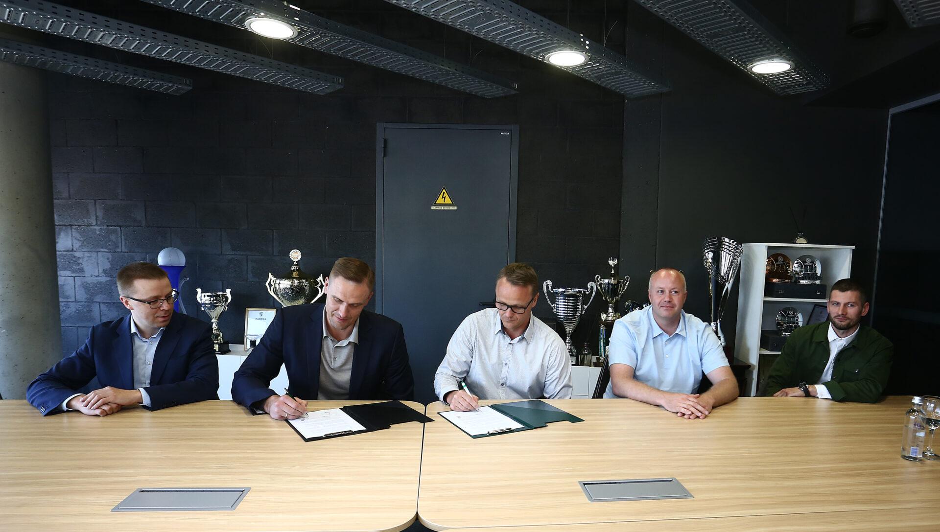 Sportsakademiet på Stenhus Gymnasium indleder samarbejde med Zalgiris
