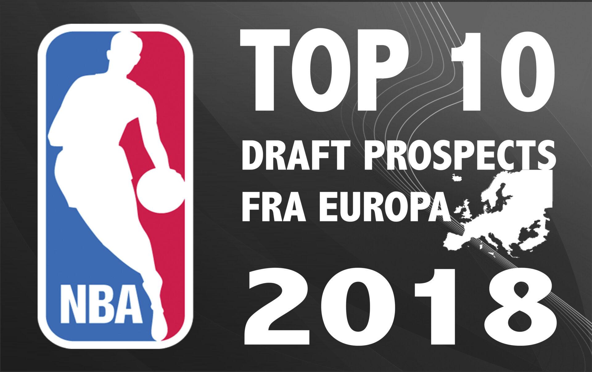 Årets største europæiske talenter i NBA-draften