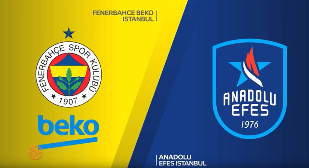 Højdepunkter fra semifinalen mellem Fenerbahce og Anadolu Efes Istanbul