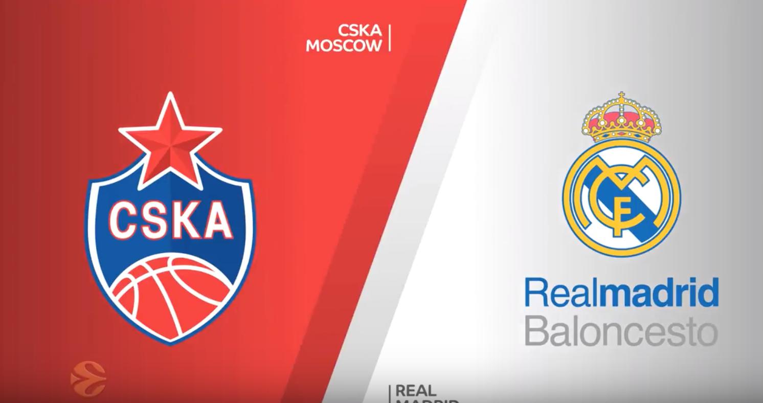 Højdepunkter fra semifinalen mellem CSKA og Real Madrid