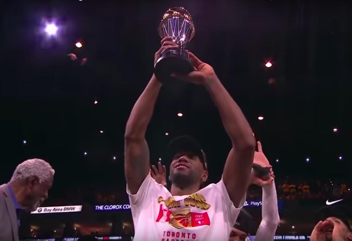 Kawhi Leonard har NBA i sin hule hånd