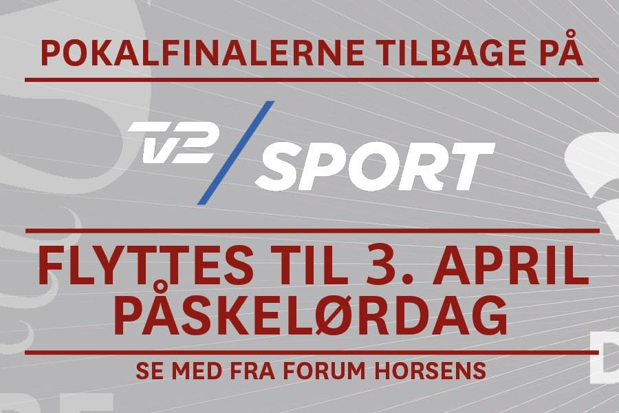 Årets pokalfinaler afvikles i Påsken