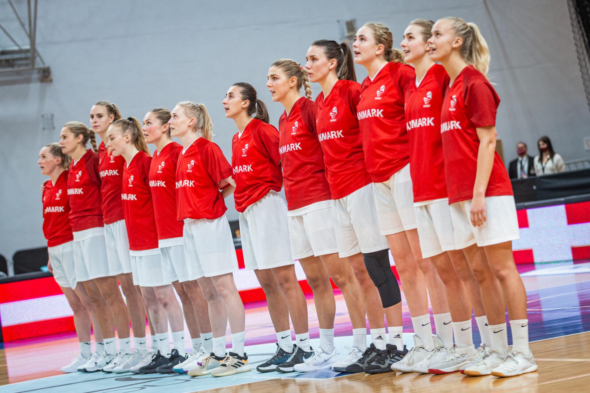 Danmark leverer en flot indsats trods nederlag til gruppevinderne