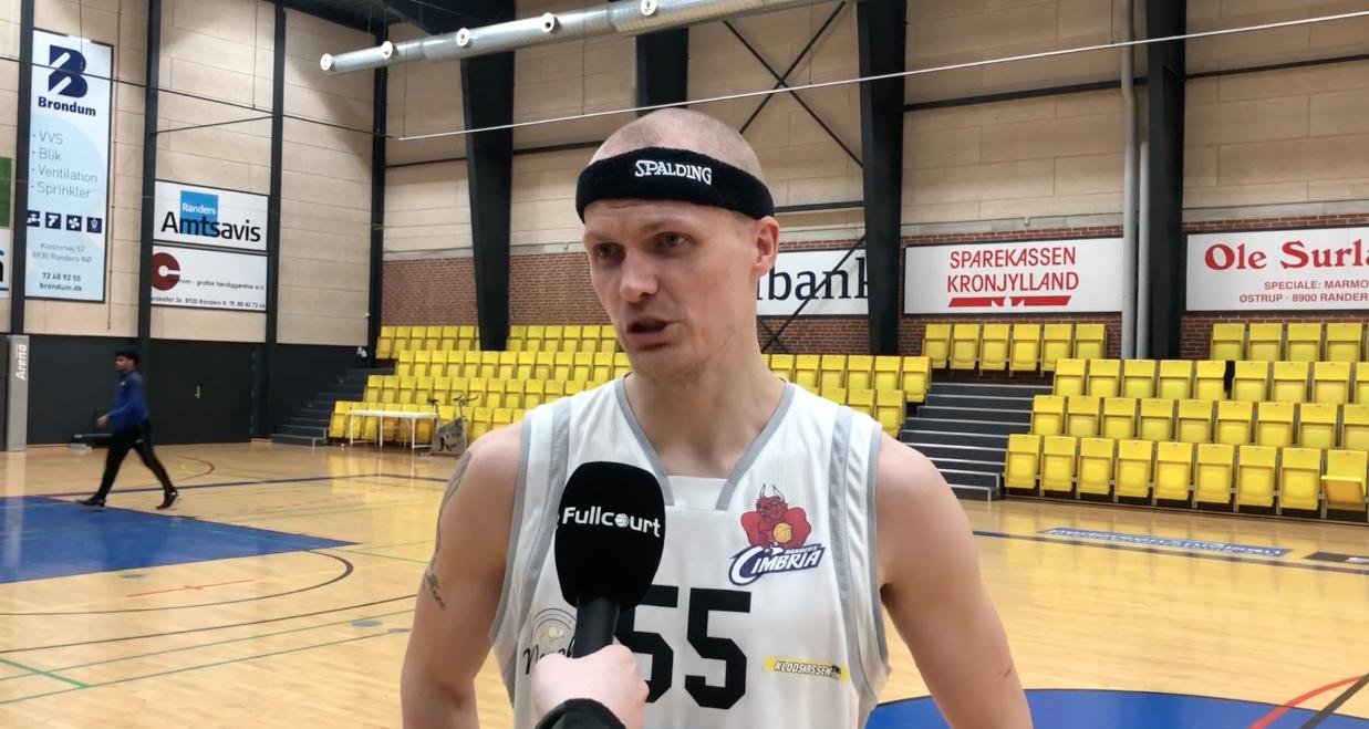 """Chris Nielsen: """"At runde 500 kampe i Basketligaen betyder meget for mig"""""""